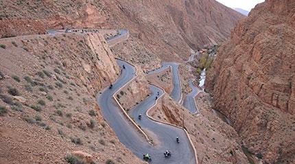 Tour organizado en moto Marruecos