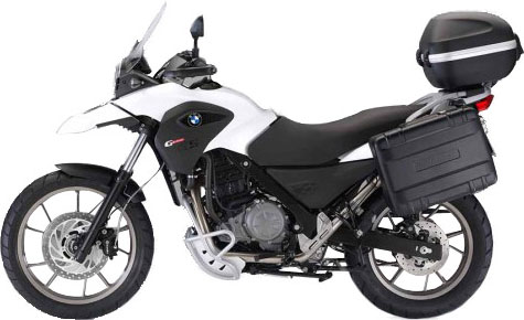Rent the BMW G650GS from IMTBike