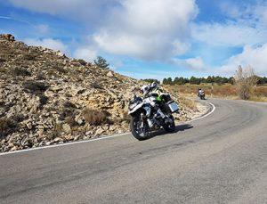 Ruta organizada en moto MotoGP Valencia Cheste: Ribera del Ebro a Sierra del Maestrazgo