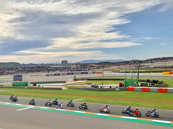 Ruta organizada en moto MotoGP Valencia Cheste