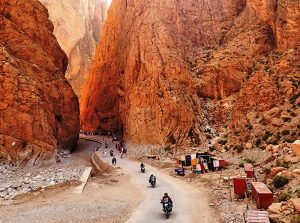 Ruta organizada moto por Marruecos
