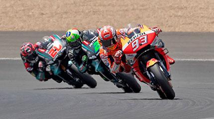 Tour organizado en moto Europa MotoGP España