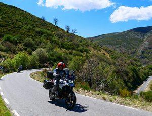 Viaje organizado moto Europa España Central: Avila a Ciudad Rodrigo