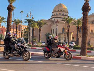 Ruta organizada en moto por Marruecos: Marrakech a Rabat