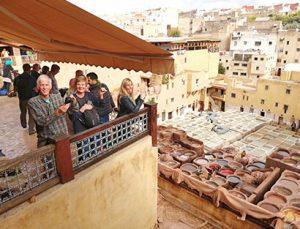 Ruta organizada en moto por Marruecos: descanso en Fez