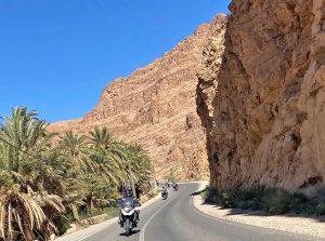 Ruta organizada en moto por Marruecos y sur de España