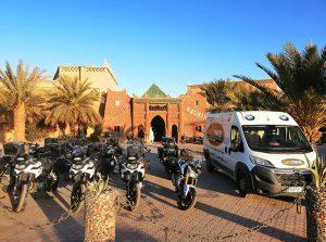 Viaje organizado en moto por Marruecos y sur de España