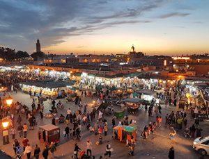 Viaje organizado en moto por Marruecos: Afourer - Marrakech