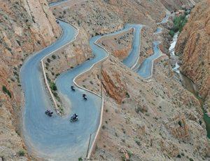 Tour organizado en moto por Marruecos: Garganta de Dades