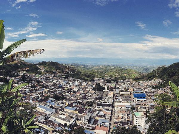 Llegada a Bogotá