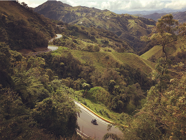 Bogotá - Honda (100 km Offroad)