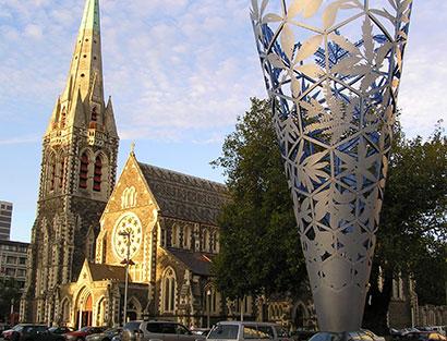 Llegada a Christchurch