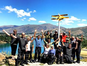 Tour organizado en moto Nueva Zelanda: descanso en Dunedin