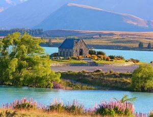Tour organizado en moto Nueva Zelanda: Tekapo a Christchurch