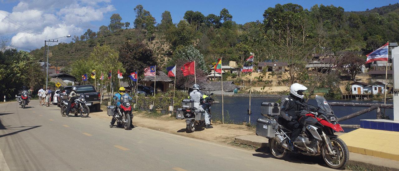 Ruta en moto Tailandia
