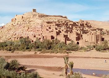 Boumalne Dades - Ait Ben Haddou - Marrakesh
