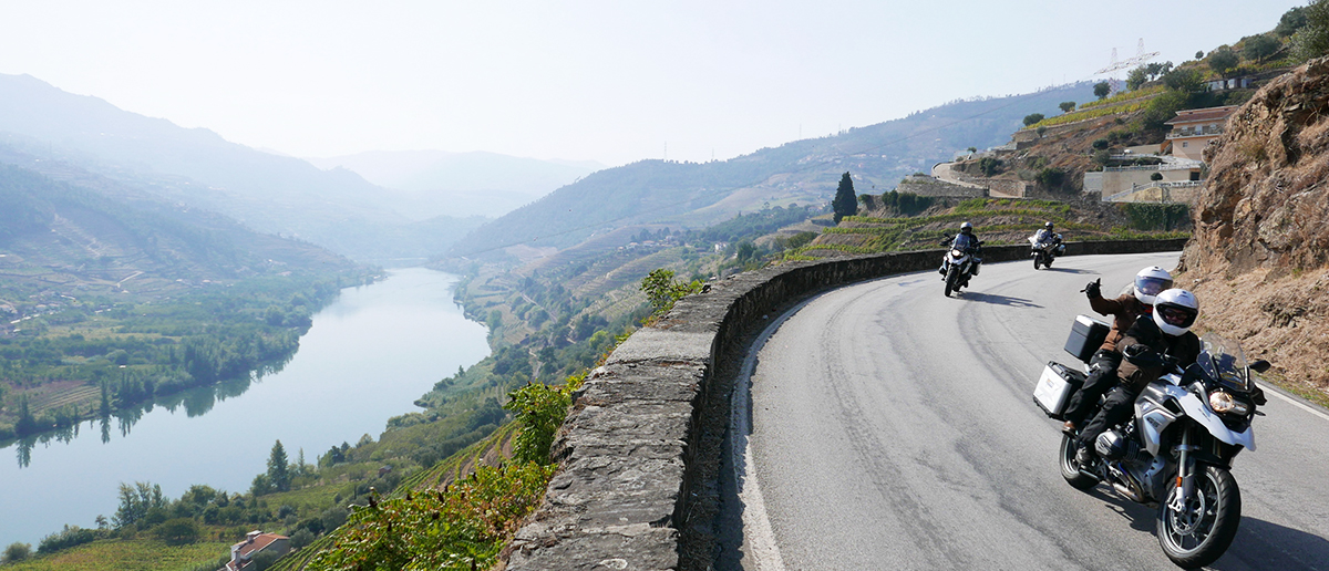 Ruta en moto Portugal España Tierra de vinos