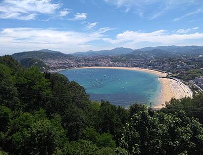 San Sebastián - día de descanso